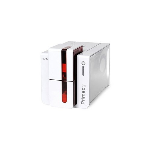 Evolis Primacy, μονής όψης, 12 dots/mm (300 dpi), USB, Ethernet, χωρίς επαφή, κόκκινο (PM1H00CWRS)