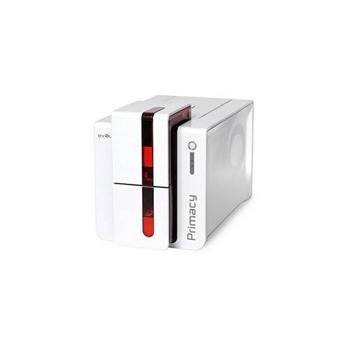 Evolis Primacy, μονής όψης, 12 dots/mm (300 dpi), USB, Ethernet, smart, χωρίς επαφή, κόκκινο (PM1H0ELYRS)