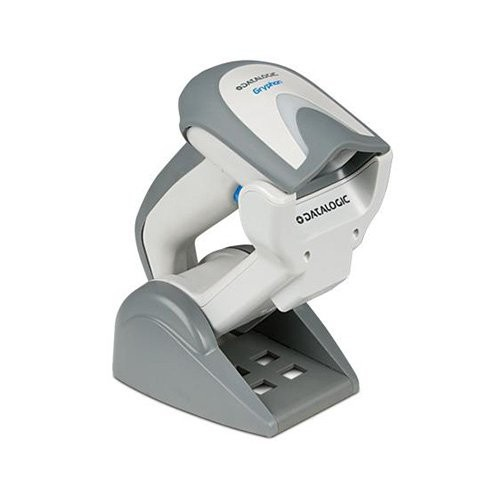 Datalogic Gryphon GM4130, 1D, kit (USB), λευκό (GM4130-WH-910K1)