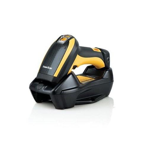 Datalogic PowerScan PBT9500, bluetooth, 2D, kit (USB), αφαιρούμενη μπαταρία, μαύρο, κίτρινο (PBT9500-HPRBK10EU)