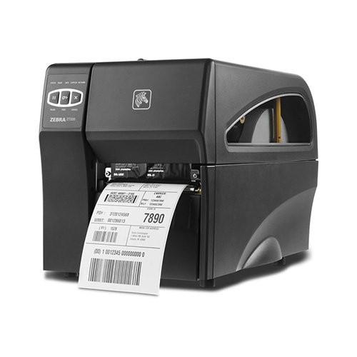 Zebra ZT220, 8 dots/mm (203 dpi), peeler, EPL, ZPL, ZPLII, USB, RS232, Ethernet (ZT22042-T1E200FZ)