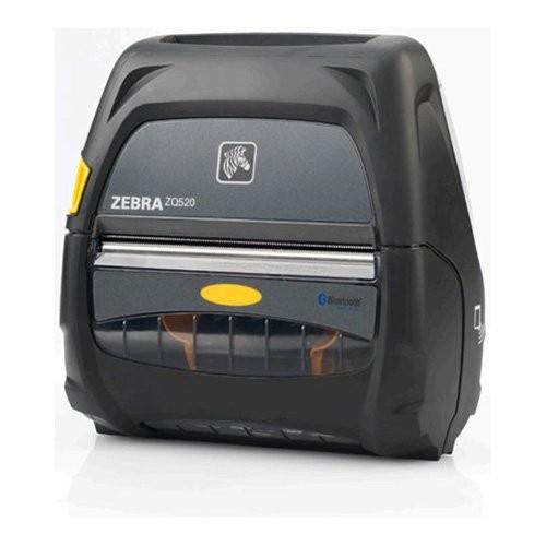 Zebra ZQ520, 8 dots/mm (203 dpi), linerless, οθόνη, ZPL, CPCL, USB, bluetooth, Wi-Fi (ZQ52-AUN100E-00)