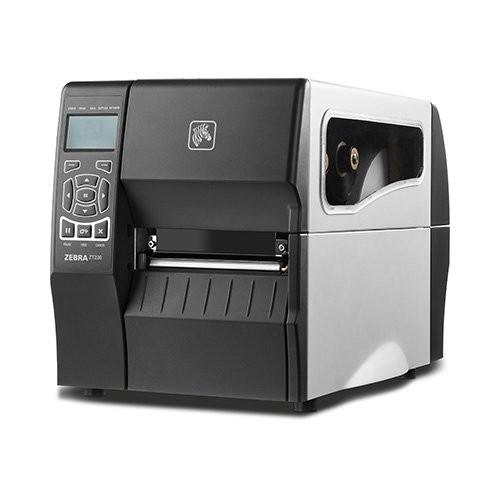 Zebra ZT230, 8 dots/mm (203 dpi), peeler, οθόνη, EPL, ZPL, ZPLII, USB, RS232, LPT (ZT23042-T1E100FZ)