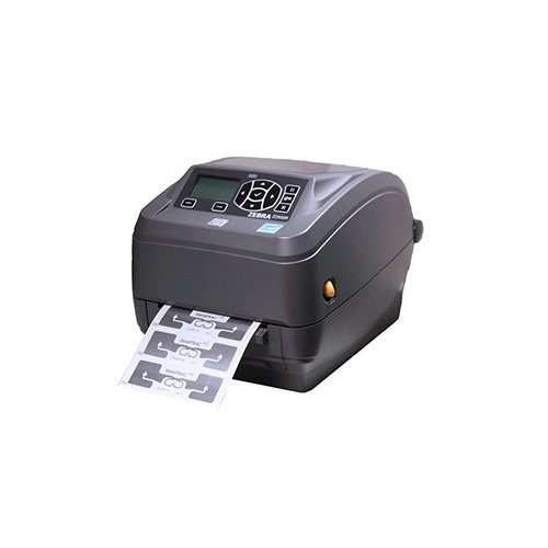 Zebra ZD500R, 8 dots/mm (203 dpi), cutter, RTC, RFID, ZPLII, bluetooth, Wi-Fi, (Ethernet) (ZD50042-T2E3R2FZ)