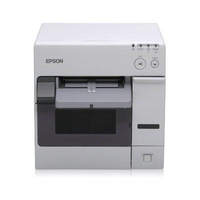 Epson ColorWorks C3400, cutter, USB, λευκό (C31CA26012)