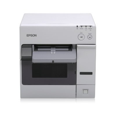 Epson ColorWorks C3400, cutter, Ethernet, NiceLabel, λευκό (C31CA26032CD)