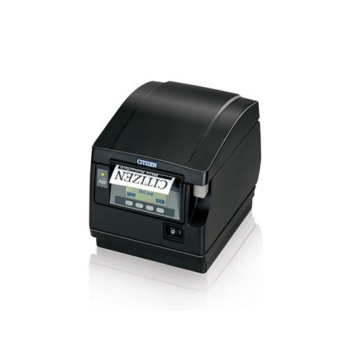 Citizen CT-S851, Ethernet, 8 dots/mm (203 dpi), cutter, οθόνη, μαύρο (CTS851SNNEBKE)