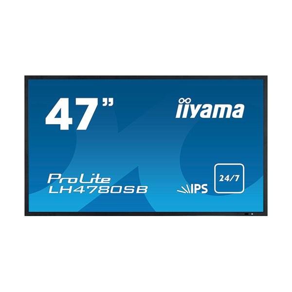 iiyama ProLite LH4780SB, 24/7, High Brightness, 119,4cm (47''), full HD, μαύρο (LH4780SB-B1)