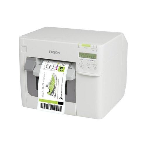 Epson ColorWorks C3500, cutter, οθόνη, USB, Ethernet, NiceLabel, λευκό (C31CD54012CD)