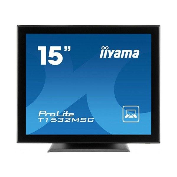 iiyama ProLite T1532MSC, 38.1 cm (15''), projected capacitive, 10 TP, μαύρο (T1532MSC-B3X)