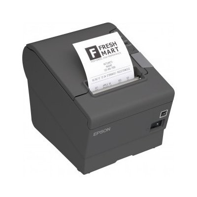 Epson TM-T88V, USB, Ethernet, μαύρο (C31CA85238WB)