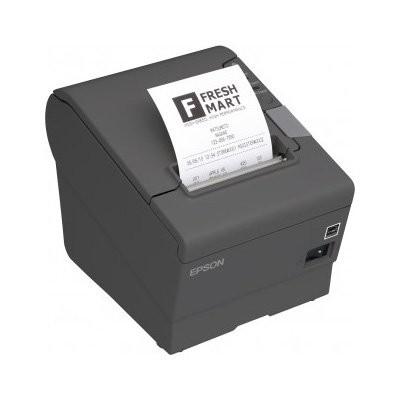 Epson TM-T88V, USB, LPT, γκρι (C31CA85835)