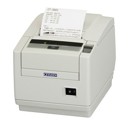 Citizen CT-S601, Ethernet, 8 dots/mm (203 dpi), cutter, λευκό (CTS601SNNEWHE)