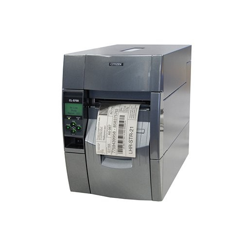 Citizen CL-S700R, 8 dots/mm (203 dpi), rewinder, MS, ZPLII, Datamax (Ethernet) (1000845)