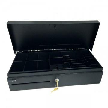 Συρτάρι ταμειακής μηχανής flip top ACR CDR-4617 FT μαύρο μεταλλικό