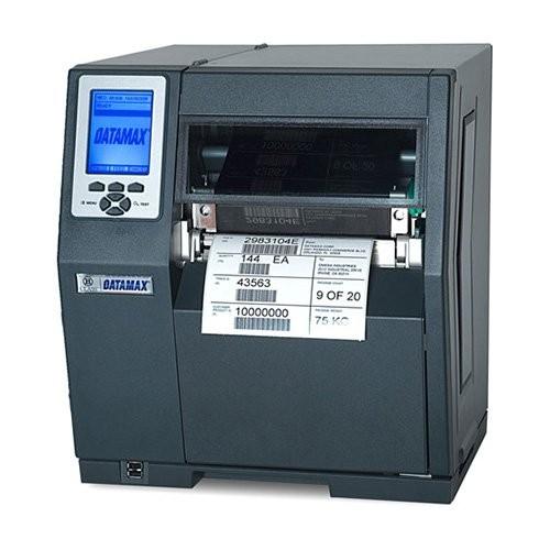 Datamax H-6308, 12 dots/mm (300 dpi), RTC, οθόνη, USB, RS232, LPT, Ethernet (C93-00-46000004)