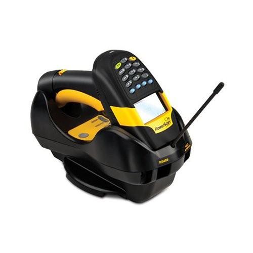 Datalogic PowerScan PM8300, 1D, οθόνη, kit (USB), αφαιρούμενη μπαταρία, μαύρο, κίτρινο (PM8300-DKAR433RK10)