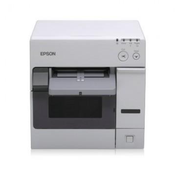 Epson ColorWorks C3400, cutter, USB, λευκό (C31CA26012), C31CA26012