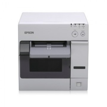 Epson ColorWorks C3400, cutter, USB, NiceLabel, λευκό (C31CA26012CD), C31CA26012CD