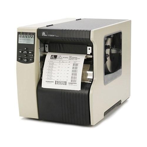 Zebra 170Xi4, 12 dots/mm (300 dpi), cutter, ZPLII, print server (170-80E-00104)